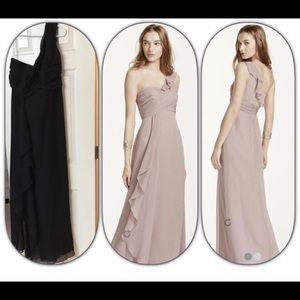 David's Bridal Bridesmaid Dress Worn Once